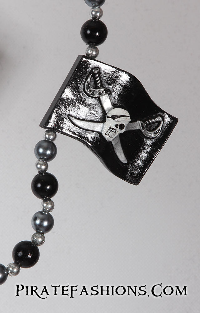 Pirate Flag Specialty Bead