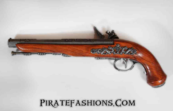 French Flintlock Dueling Pistol (Non-Firing Replica)