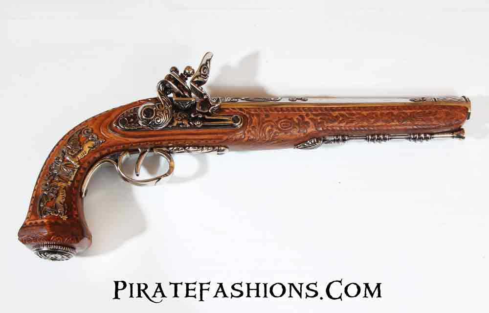 French Court Dueling Pistol (Non-Firing Replica)