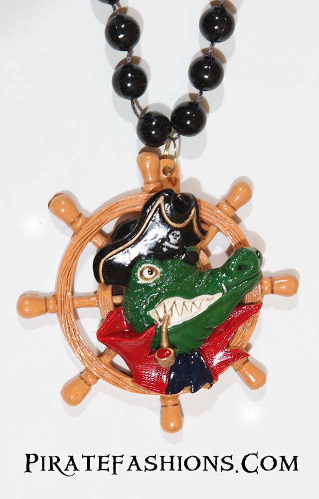Gator Pirate Specialty Bead
