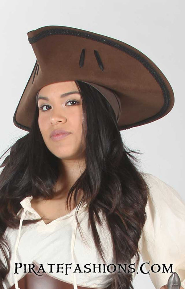 Gunners Tricorn Pirate Hat