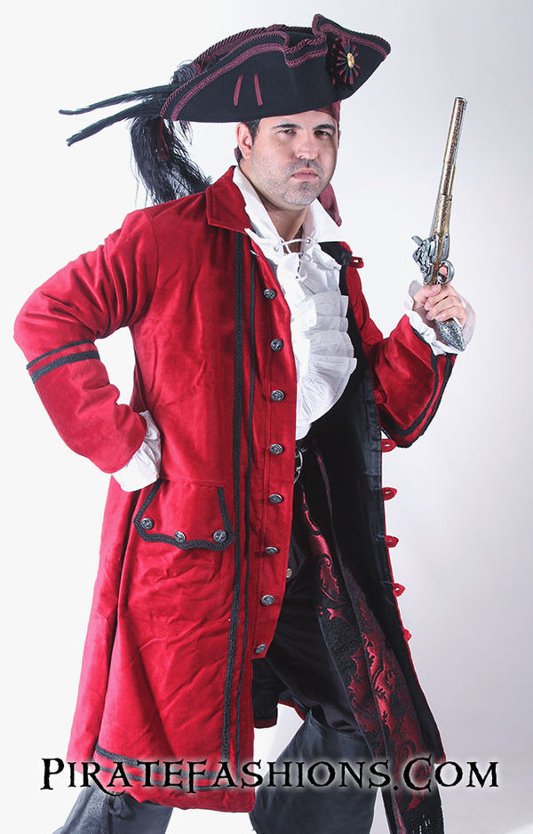 James Hook Pirate Coat