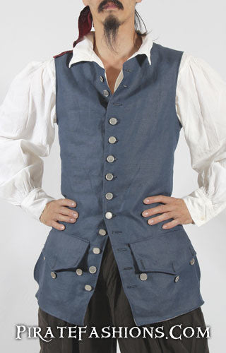 Front View o' the Jack Sparrow Waistcoat