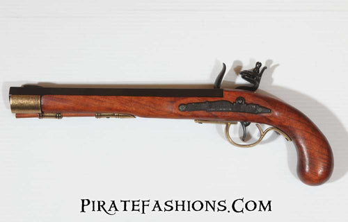 kentucky flintlock pistol reverse view
