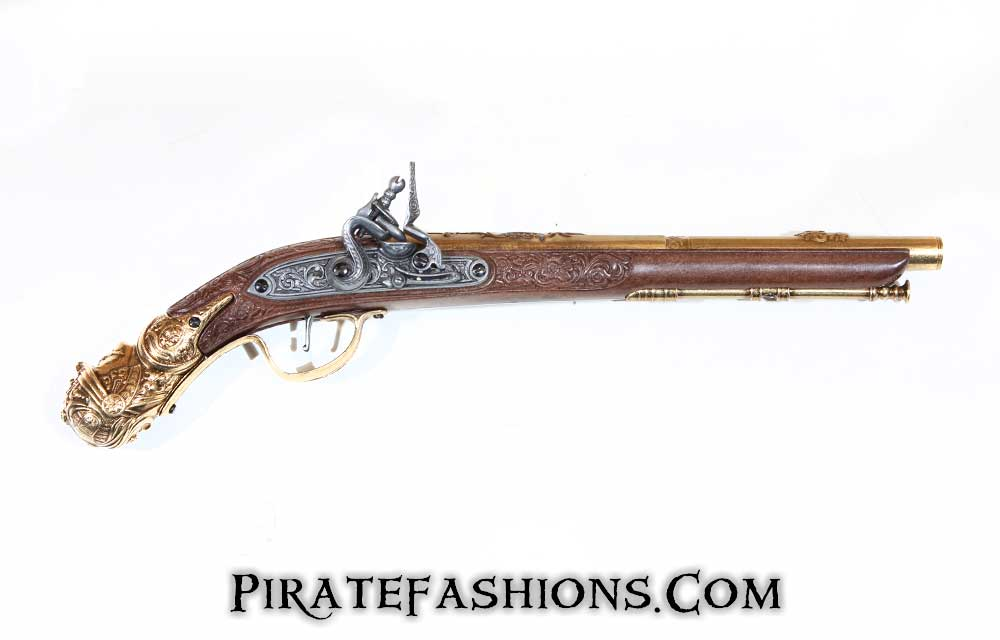 Knights Head Replica Flintlock Pistol (Non-Firing Replica)