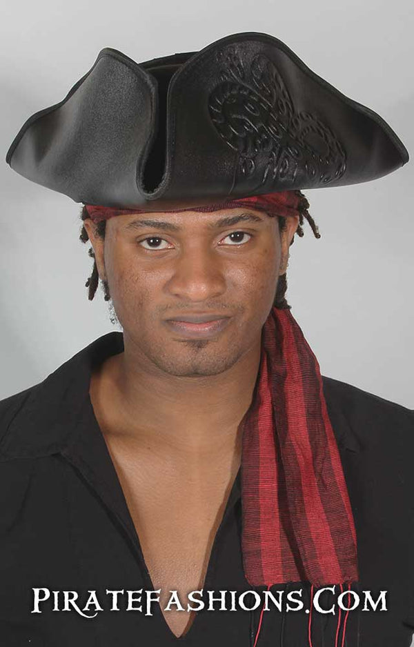 Scallywag Pirate Tricorn Hat