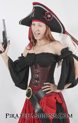 eb06cce9 Blouse N Peasant Top fer Lady Pirate N Wench – Pirate Fashions