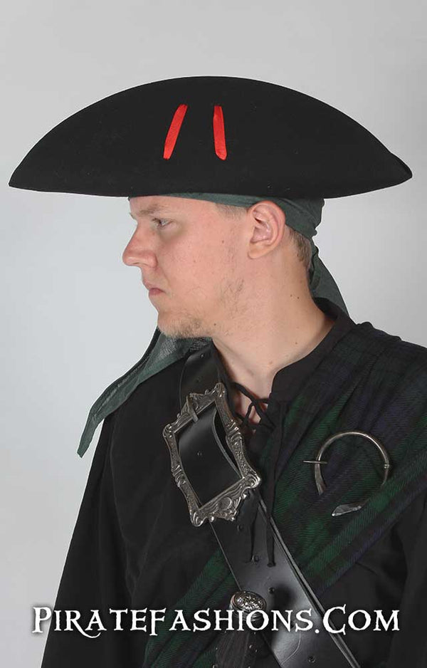Landsmen Tricorn Pirate Hat