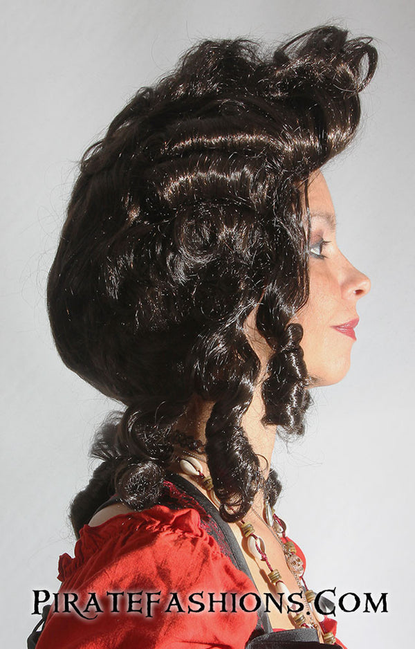 Ladies Colonial Wig