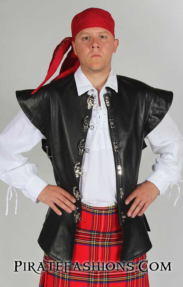 Leather Buccaneer Jerkin