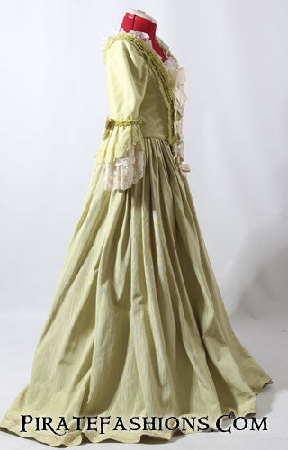 Lime Wedding Gown