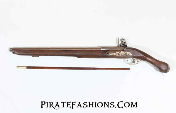 Long John Flintlock Pistol (Black Powder)