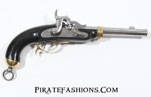 Prussian military percussion pistol
