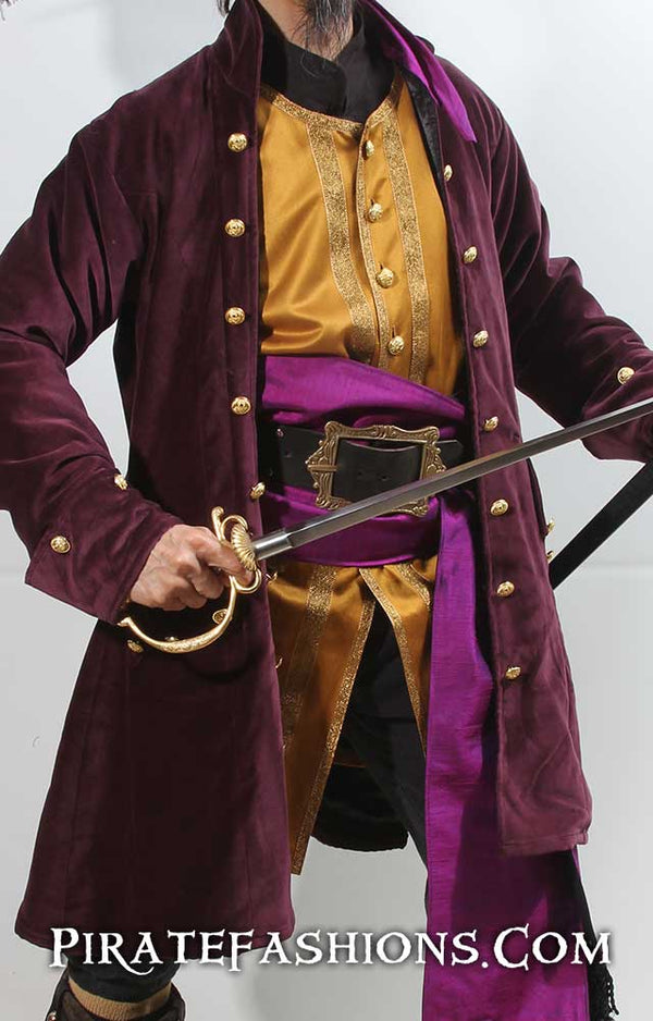 Purple Privateer Coat