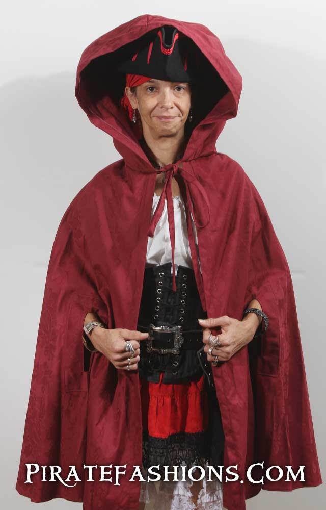 Red Riding Hooded Cape