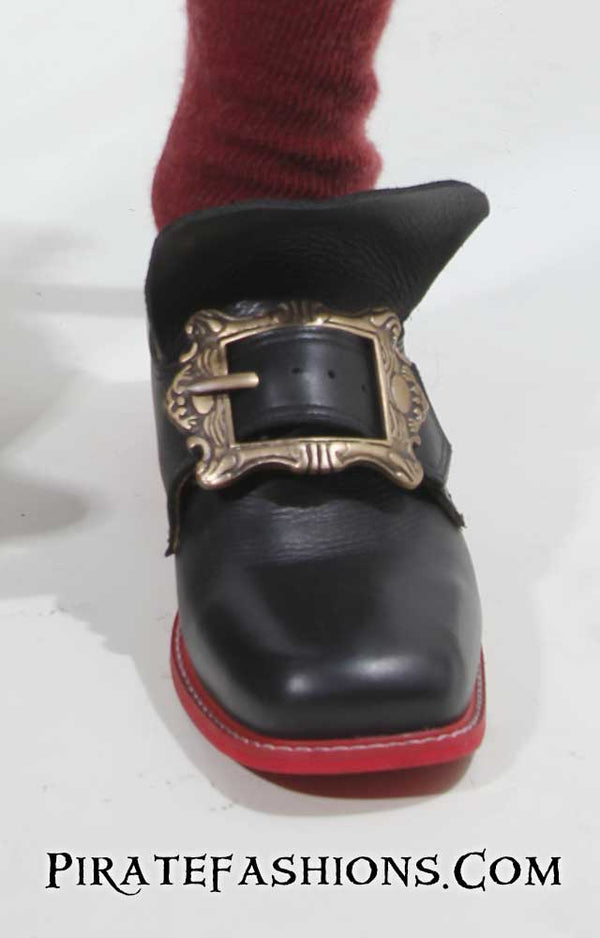 Golden Age Pirate Buckle Shoe