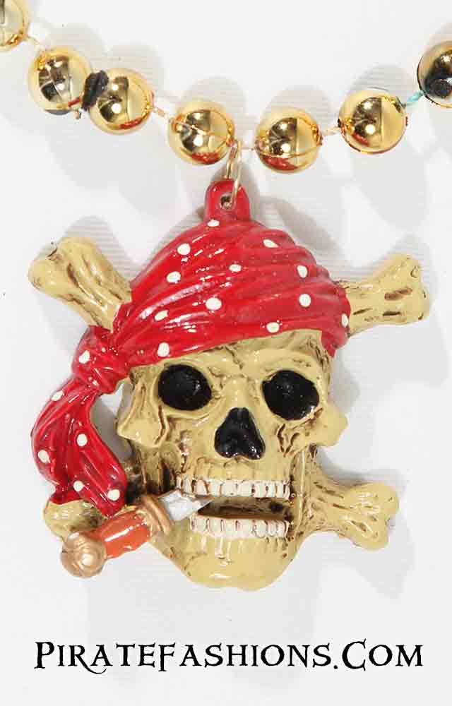 Pirate Skull Specialty Bead