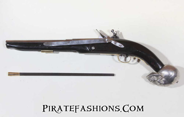 Skull Pirate Pistol (Black Powder)