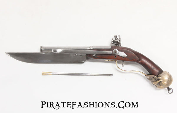 Skull Cutlass Pistol (Black Powder)