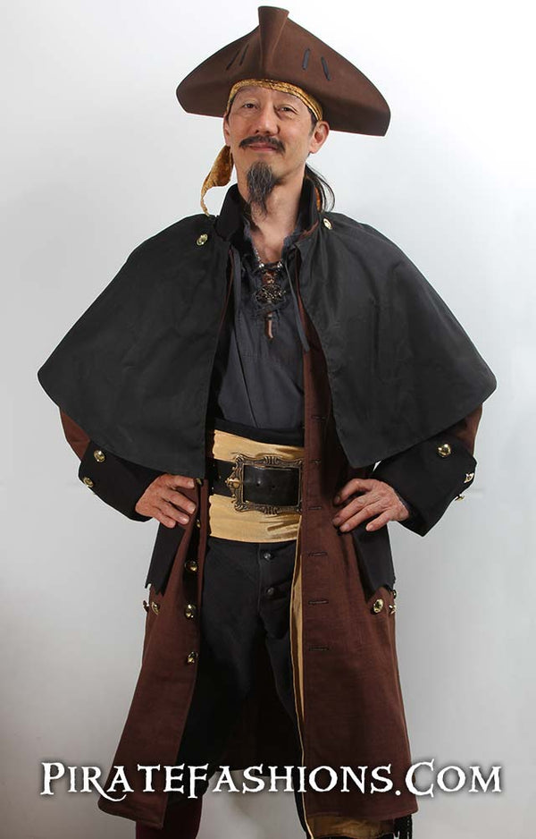 Stormy Weather Pirate Coat