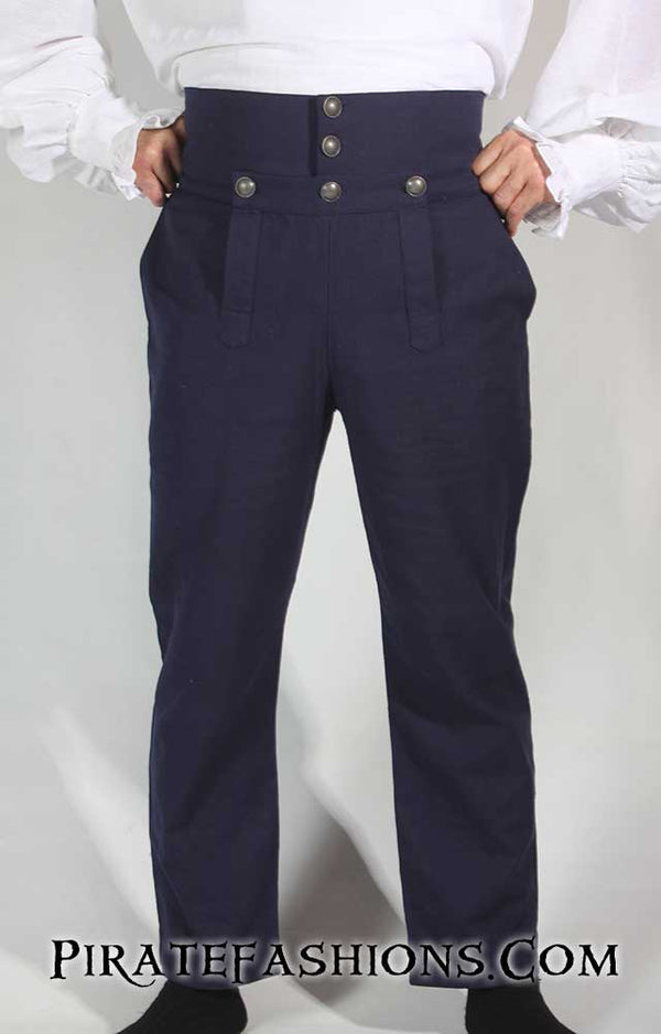 Drop Front Trousers