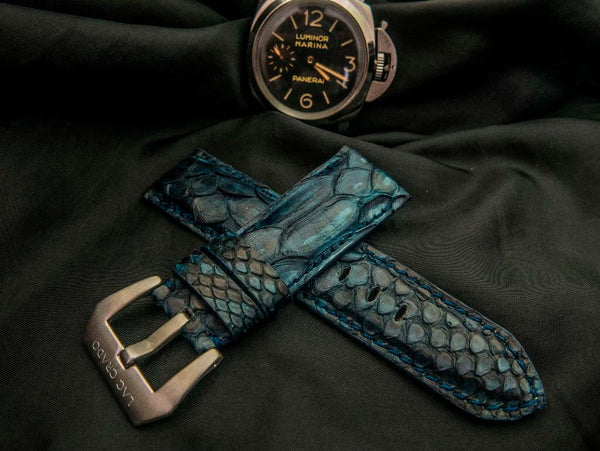 PYTHON LEATHER STRAP FOR PANERAI - THE SEA