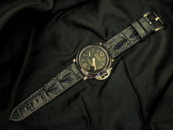 CROCODILE HORNBACK LEATHER STRAP - DOMINICA