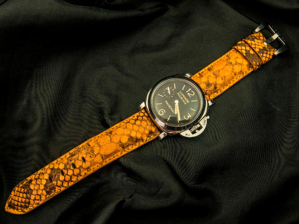 PYTHON LEATHER STRAP - HARAU