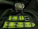 CROCODILE BELLY LEATHER STRAP - EIGER