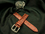 CROCODILE BELLY LEATHER STRAP FOR PANERAI - THE CAVE