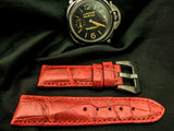 CROCODILE BELLY LEATHER STRAP - COMO