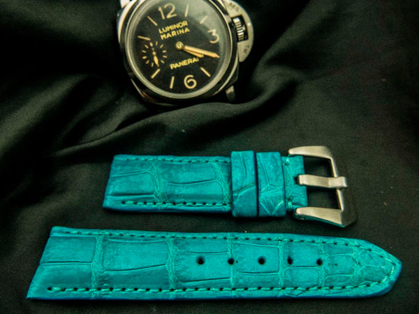 CROCODILE BELLY LEATHER STRAP - WARWICK
