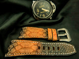 PYTHON LEATHER STRAP - BRAIES