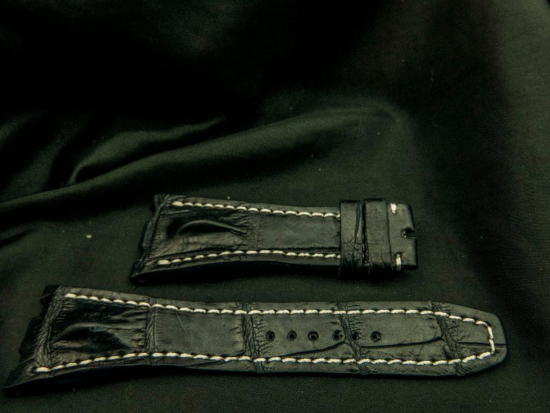 CROCODILE LEATHER STRAP - PALOUSE
