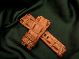 CROCODILE LEATHER STRAP - UNIVERSE