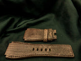 LIZARD LEATHER STRAP - MORRAINE