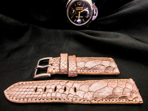 PYTHON LEATHER STRAP FOR PANERAI - STINGY