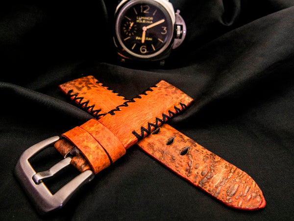 TOAD LEATHER STRAP FOR PANERAI - MALAWI