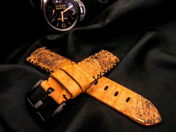 TOAD LEATHER STRAP - SPOTTED