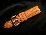 PYTHON LEATHER STRAP - CREPE