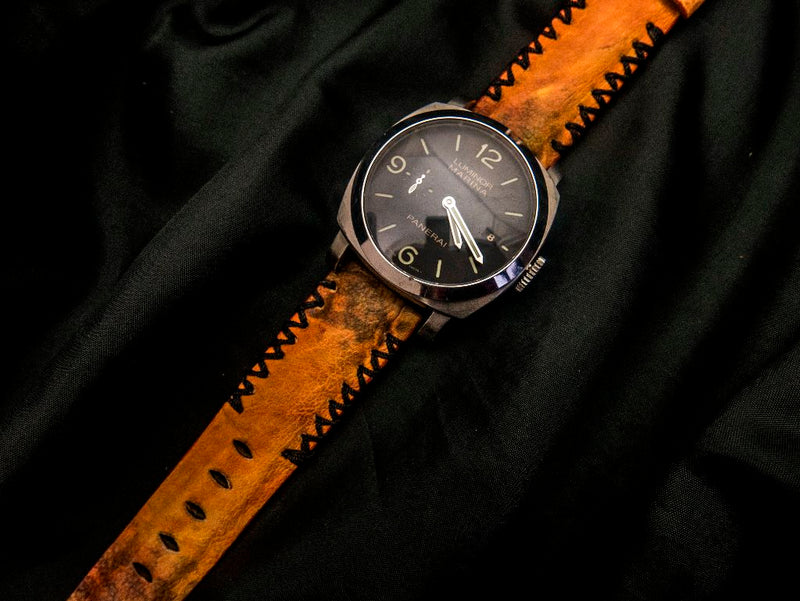TOAD LEATHER STRAP - GARDA