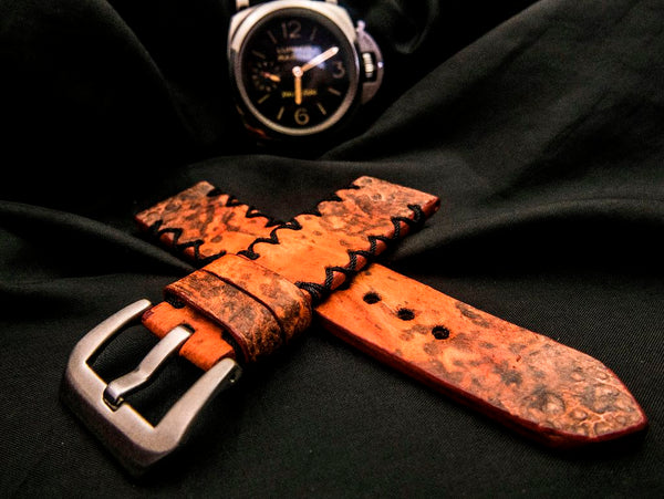 TOAD LEATHER STRAP FOR PANERAI - GRAND ANSE
