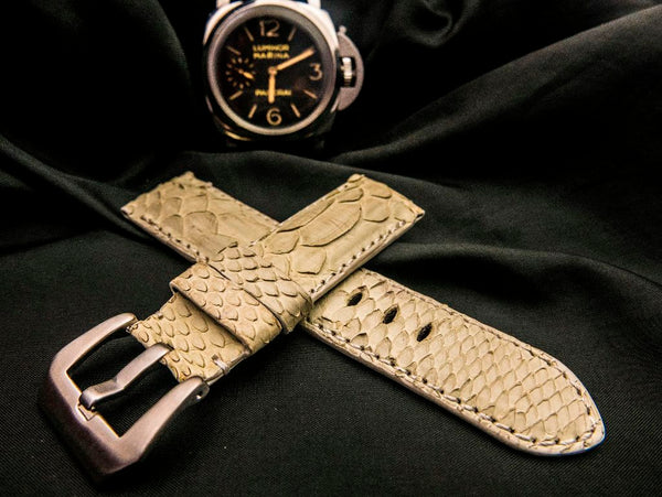 PYTHON LEATHER STRAP FOR PANERAI - HERA