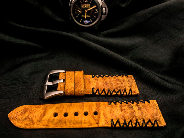 TOAD LEATHER STRAP FOR PANERAI - QUEENSLAND