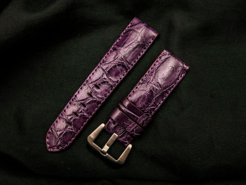 CROCODILE BELLY LEATHER STRAP - DEHANG