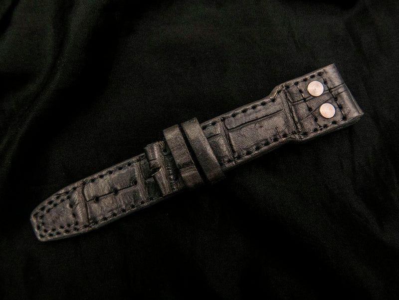 CROCODILE LEATHER STRAP - PLITVICE