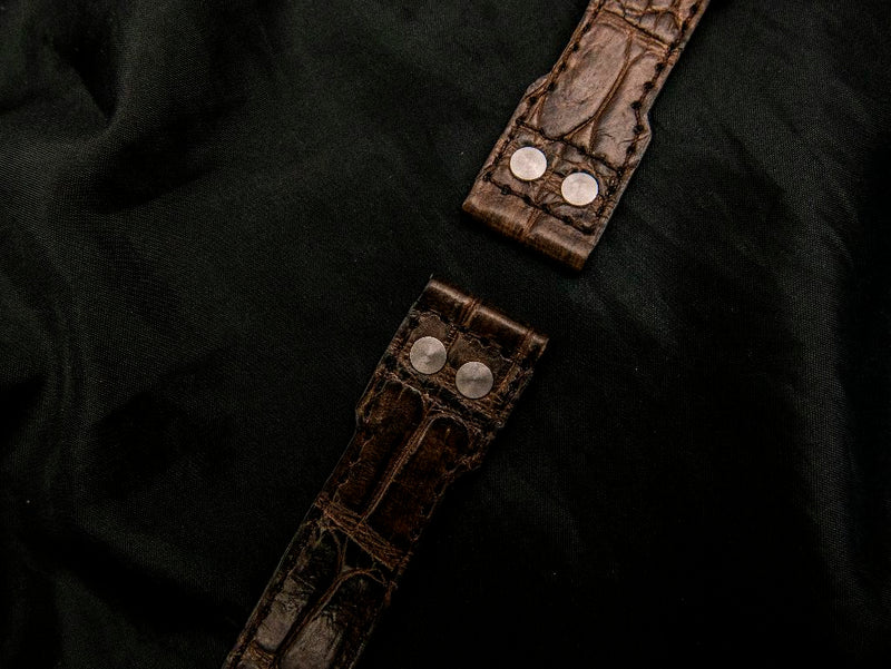 CROCODILE LEATHER STRAP - KAIETEUR
