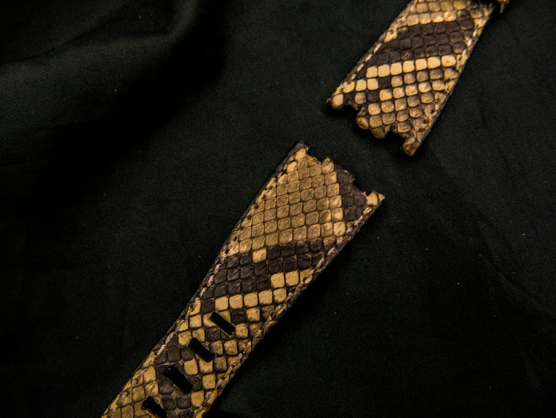 PYTHON LEATHER STRAP FOR AP - REINE