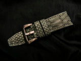 PYTHON LEATHER STRAP - BAIKA