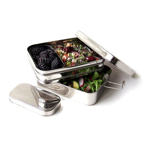 Three-in-One Giant Stainless Bento Box